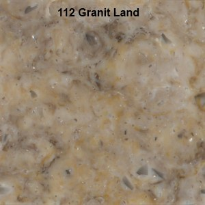 Столешницы из акрилового камня Neomarm NM112 Granit Land