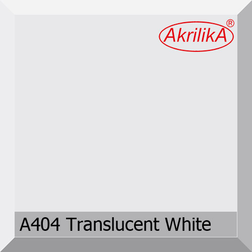 A-404 Translucent white
