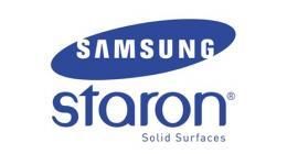Цветовая палитра столешниц Samsung Staron