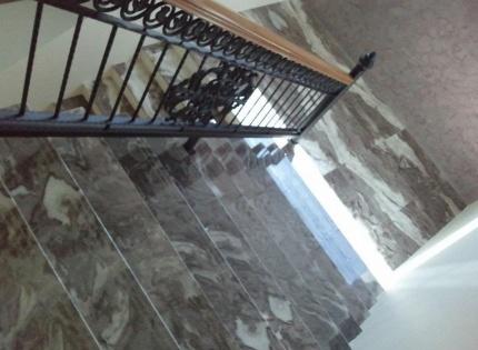 Монтаж лестниц из искусственного камня Москва
