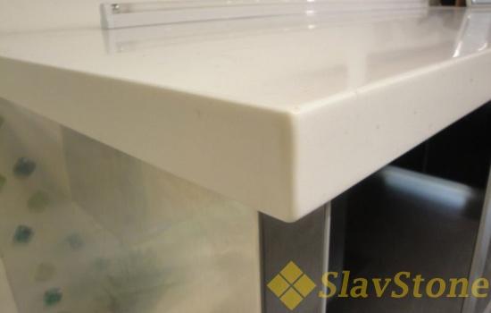 Столешница из искусственного камня Hanex C-001 Cubic White