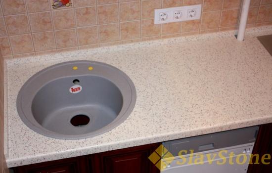 Столешница из искусственного камня Hi Macs G41 Confetti Quartz