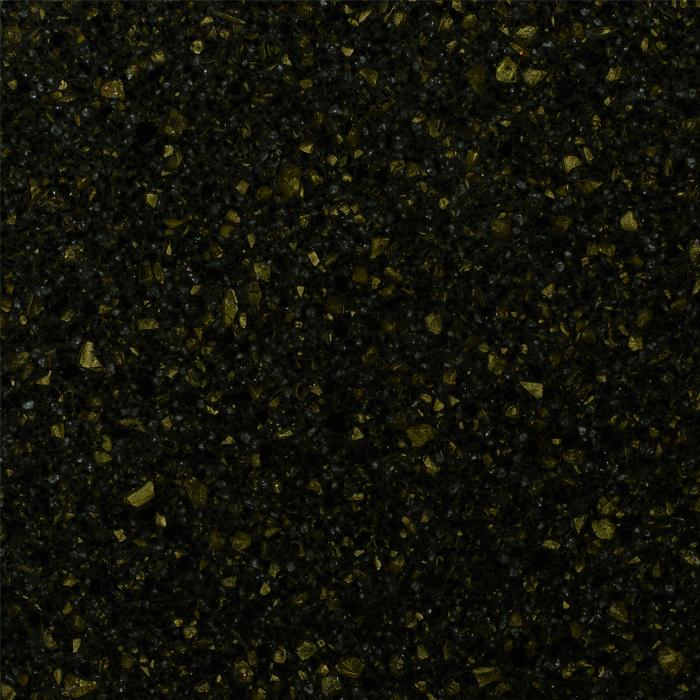 Столешницы из акрилового камня Samsung Staron Tempest Gold Leaf FG196